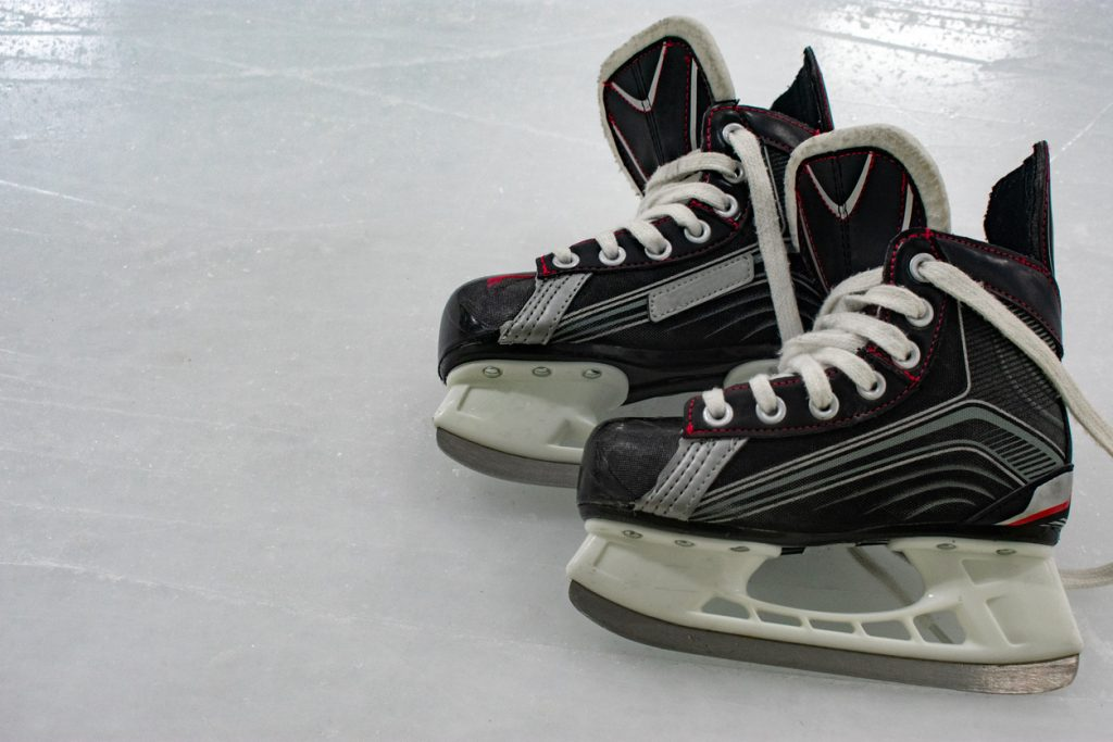 Hockey skates orthotics