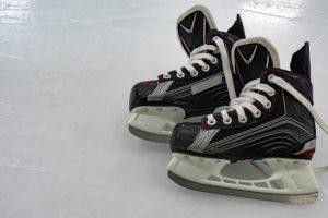 Hockey skates orthotics